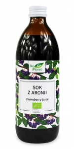SOK Z ARONII BIO 500 ml - BIO PLANET