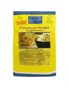 Koncentrat Mąki Wieloziarnistej 500g - BEZGLUTEN
