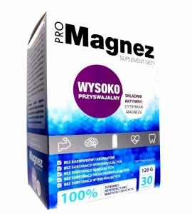 ProMagnez 30sasz. Cytrynian Magnezu 100%RWS PROPHARMA