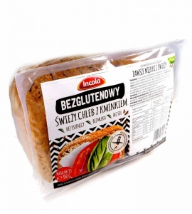 Chleb świeży z kminkiem 350g - INCOLA