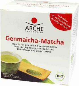 HERBATA GENMAICHA-MATCHA EKSPRESOWA BIO 10 x 1,5 g - ARCHE