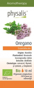 BIO OLEJEK ETERYCZNY OREGANO (OREGANO) 10 ml - PHYSALIS