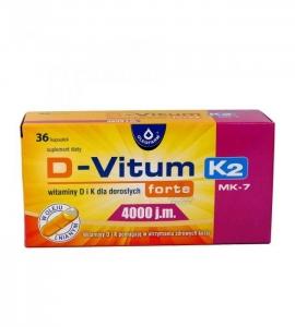 OLEOFARM D-VITUM forte K2Mk7 4000 j.m. 36 kaps