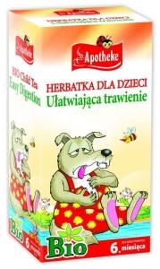 Her.dla dzieci na trawienie BIO 20x1.5g APOTHEKE