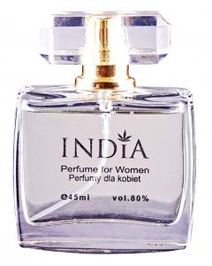 INDIA Perfumy damskie z nutą konopi 45ml