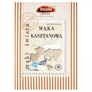 Mąka Kasztanowa Bezglutenowa 400g INCOLA