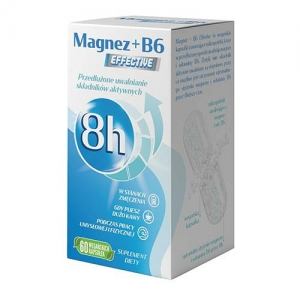 MAGNEZ + B6 EFFECTIVE (60 kapsułek) - PROPHARMA