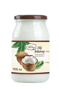 Olej kokosowy  tłoczony na zimno 900ml Olvita