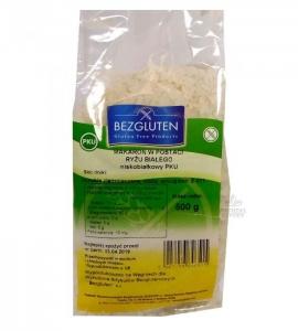 BEZGLUTEN Makaron w postaci ryżu białego Bezglutenowy PKU