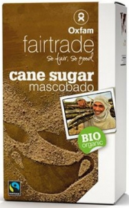 CUKIER MASCOBADO FILIPINY FAIR TRADE BIO 1 kg - OXFAM