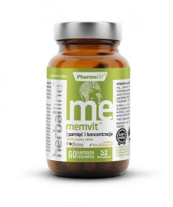 MEMVIT (pamięć i koncentracja) 60 kapsułek - PHARMOVIT