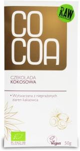 Czekolada kokosowa BIO 150g COCOA