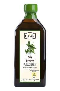 Olej konopny 250ml Olvita