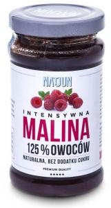 Malina 105% owoców 220g NATJUN