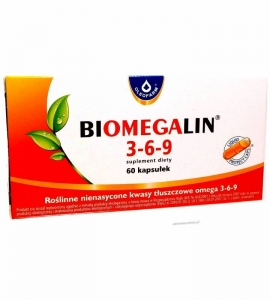 OLEOFARM Biomegalin 3-6-9 60kaps.500mg