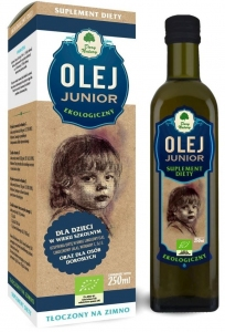 OLEJ JUNIOR BIO 250 ml - DARY NATURY