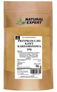 PRZYPRAWA DO KAWY KARDAMONOWA - NATURAL EXPERT