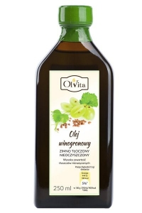 Olej winogronowy 250ml Olvita