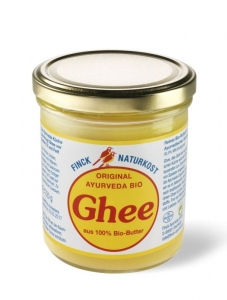 Masło Klarowane GHHE BIO 220g FINCK AYURVEDA