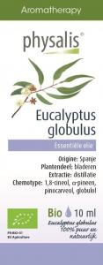 BIO OLEJEK ETERYCZNY EUKALIPTUS GAŁKOWY (EUCALYPTUS GLOBULUS) 10 ml - PHYSALIS
