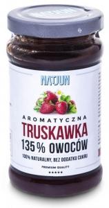 Intensywna truskawka 135% owoców b/c 250g NATJUN