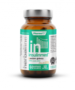 INSULINMED (poziom glukozy) 60 kapsułek - PHARMOVIT