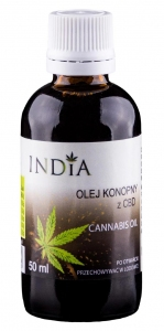INDIA Olej z CBD 5%-10ml