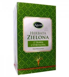 Herbata zielona z trawą cytrynową FIX 20*2g KAWON