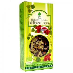 Herbatka lipowo-malinowa EKO