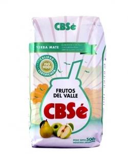 Yerba Mate CBSe Frutos del Valle 500g