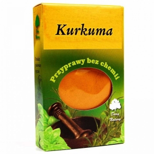 KURKUMA 50 g - DARY NATURY
