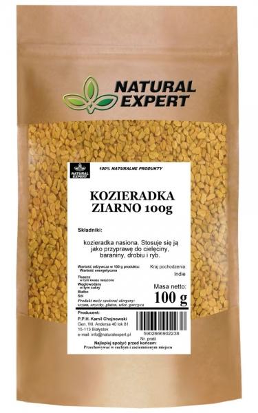 KOZIERADKA ZIARNO - NATURAL EXPERT