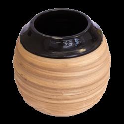 YM Matero ceramiczne Miodowe czarne duże