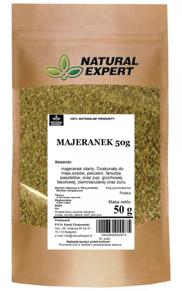 MAJERANEK - NATURAL EXPERT