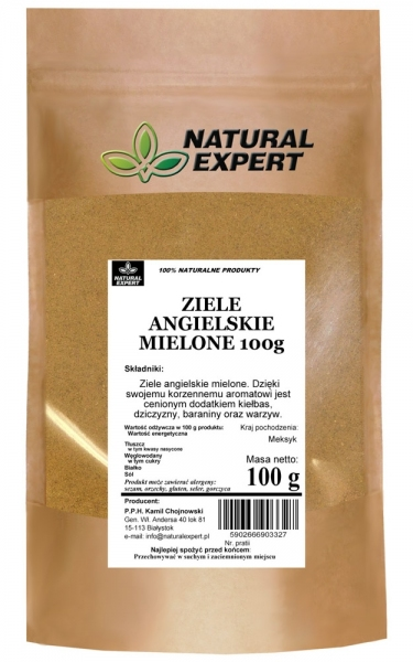 ZIELE ANGIELSKIE MIELONE - NATURAL EXPERT