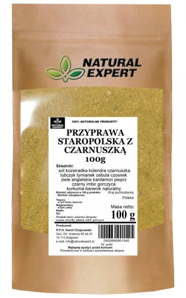 PRZYPRAWA STAROPOLSKA Z CZARNUSZKĄ - NATURAL EXPERT