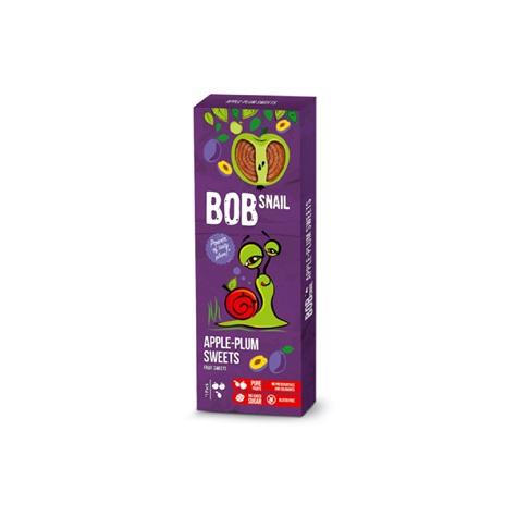 PRZEKĄSKA JABŁKOWO - ŚLIWKOWA (bez cukru) 30g - BOB SNAIL