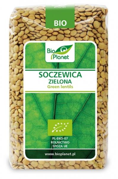 SOCZEWICA ZIELONA BIO 500 g - BIO PLANET