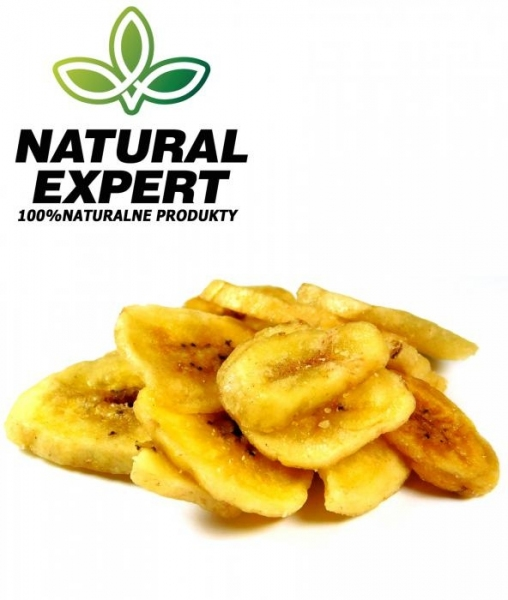 CHIPSY BANANOWE 500g - NATURAL EXPERT