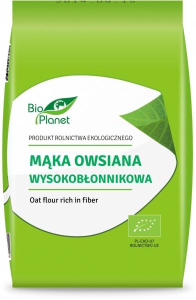 MĄKA OWSIANA WYSOKOBŁONNIKOWA BIO 1 kg - BIO PLANET
