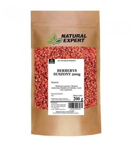 BERBERYS SUSZONY- NATURAL EXPERT