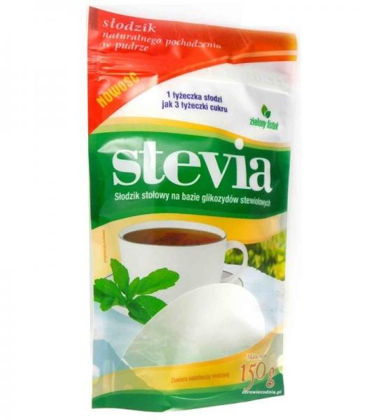 Słodzik STEVIA 150 g DOYPACK PUDER DOMOS