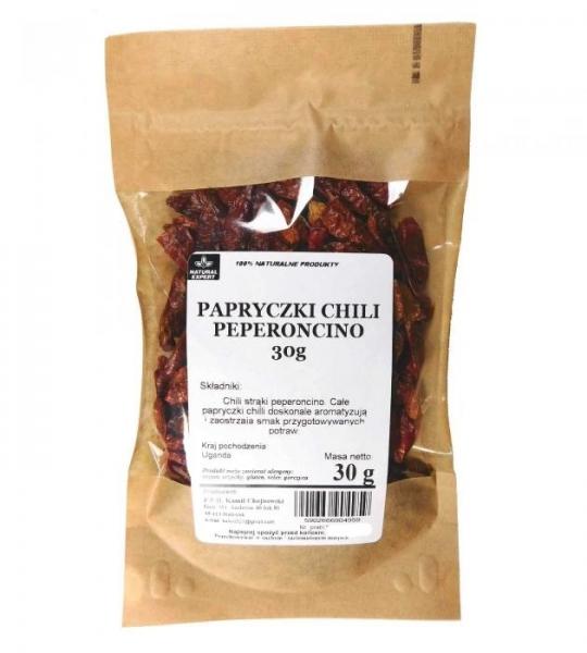 PAPRYCZKI CHILI PEPERONCINO 30 g - NATURAL EXPERT