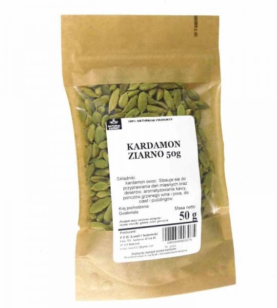 KARDAMON ZIARNO - NATURAL EXPERT